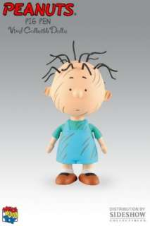 This is a collectable Pig Pen Figure from Peanuts.