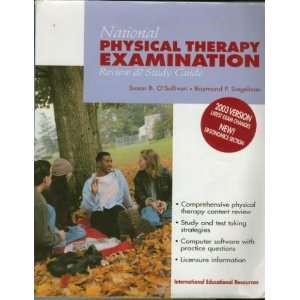 National physical therapy examination: Review & study guide: Susan B O