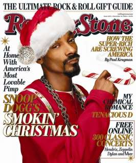 Rolling Stone Cover of Snoop Dogg Rolling Stone Cover by Matthew
