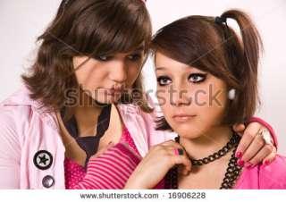 Sad Girls Teenagers Close Up Stock Photo 16906228  Shutterstock
