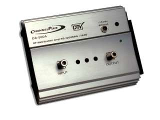 Channel Plus DA 500A RF Amplifier (DA 500A) from Solid Signal