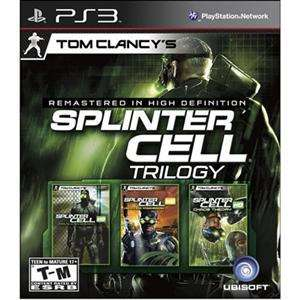 Tom Clancys Splinter Cell Classic Trilogy HD (PS3)NEW
