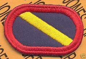 Co G 143rd Inf LRS Airborne Ranger para oval patch