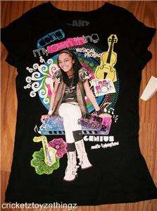 ant farm disney channel china anne mcclain chyna glitter tee shirt hit