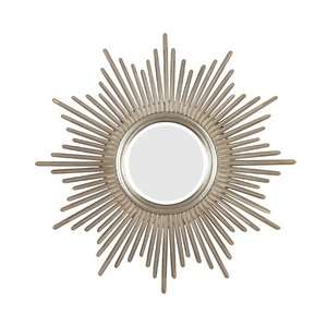 Kenroy Home Reyes Wall Mirror in Antique Silver Decor