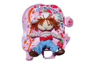 STRAWBERRY SHORTCAKE Kids Girls Backpack Rucksack Bag