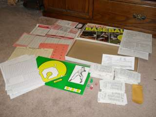 Vintage 1980 Strat O Matic BASEBALL Board game boardgame 1984 cards