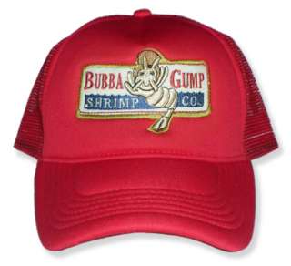 Forrest Gump Replica Shrimp Embroidered Cap Bubba Hat