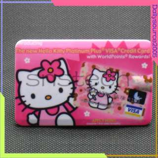 2GB 2G Hello Kitty credit card size  player Pink
