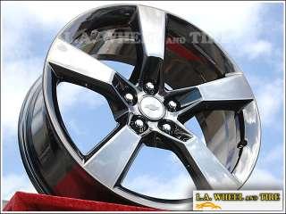 New 20 OEM Chevrolet Camaro Black Chrome Wheels Rims