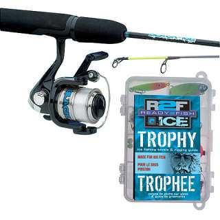 Ready 2 Fish Ice Gamefish Spin Combo with Kit Fishing & Marine