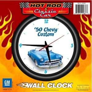 1950 Chevy Custom 12 Wall Clock   Chevrolet, Hot Rod, Classic Car