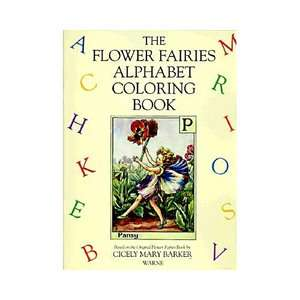 The Flower Fairies Alphabet Coloring Book, Barker, Cicely