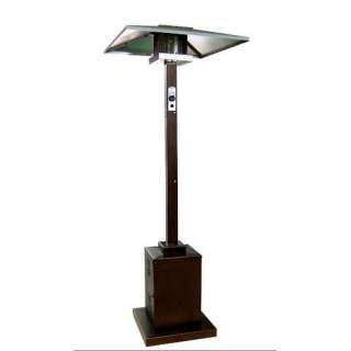 AZ Patio Heaters Tall Hammered Bronze Commercial Patio Heater