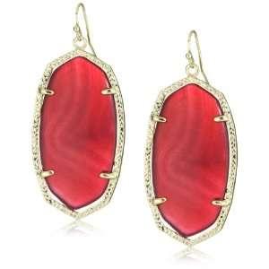 Kendra Scott Candy Danielle Pink Earrings Jewelry