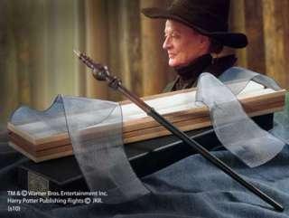 Harry Potter Prof McGonagall Wand & Ollivanders Box New