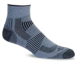 Eastern Mountain Sports Mens Fast Mountain Merino Wool Quarter Socks