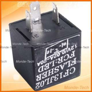 Electronic LED Blinker Flasher Relay Fix Turn Signal