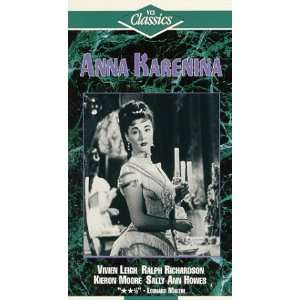 Anna Karenina [VHS] Vivien Leigh, Ralph Richardson