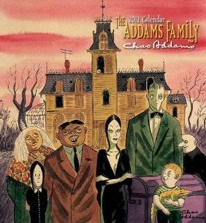 22. The Addams Family 2012 Calendar by Charles Addams