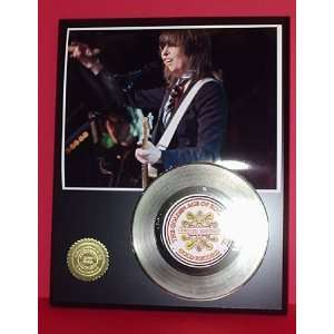 Chrissie Hynde 24kt Gold Record LTD Edition Display ***FREE PRIORITY