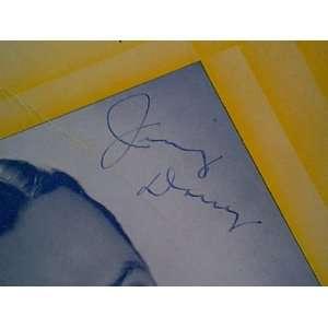 Dorsey, Jimmy I Understand 1941 Sheet Music Signed Autograph Jazz