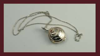 Vampire Diaries Elenas Antique Pendant Necklace 925 Sterling Silver