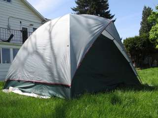 EUREKA TETRAGON 9 5 PERSON HIGH DOME TENT Roomy Camping Kids Dogs Live