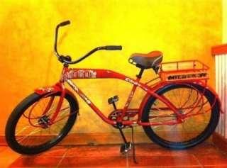 BREWING 20TH ANNIVERSARY CRUISER BIKE NEW FAT TIRE BICYCLE FELT