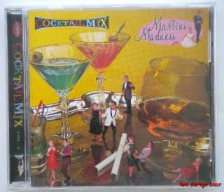 Cocktail Mix Vol. 2 Martini Madness Music CD Lounge 081227223823