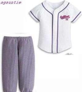 American Girl Softball Outfit Set Chrissa Kanani Lanie Lindsey Marisol