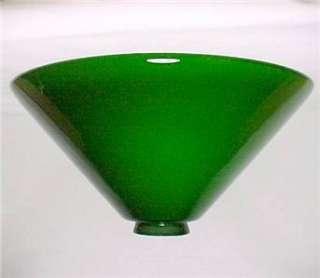 Vianne Green Glass 2.25 X 12 Cone Light Lamp Shade New