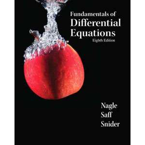 Fundamentals of Differential Equations, Nagle, R. Kent Textbooks