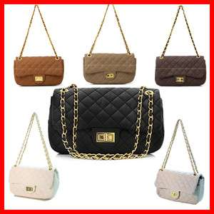 Quilted Gold Chain 2.55 Medium Handbags Shoulder Crossbody Bags Purses