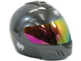 Iridium Tinted Shield Visor PGR Helmet Full Face 111