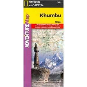 Khumbu Adventure Maps, National Geographic Maps Travel & Nature