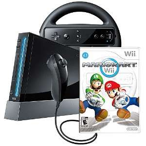 NEW WII NINTENDO GAME CONSOLE MARIO KART 2 PLAY BUNDLE