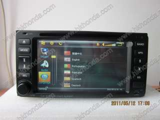 Toyota 2003 2005 Land cruiser car dvd player radio gps bluetooth