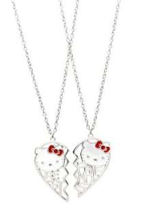 Hello Kitty Best Friends Heart Necklaces Clothing