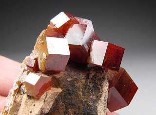 Vanadinite, Mibladen, Atlas Mountains, Morocco