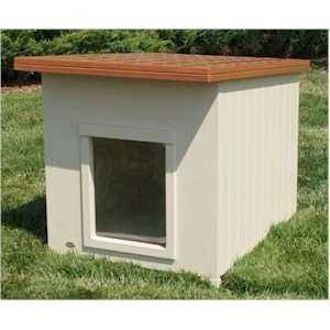 Tuff Terrace Insulated Dog House   Free Shipping: Pet