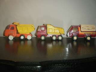 Vintage TONKA BUDDY L toy Dump Trucks 1970s collectors rare metal