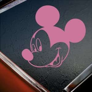 Disney Pink Decal Mickey Mouse Car Truck Window Pink