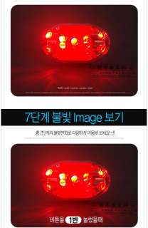 New Cycling 9 LED Bicycle Bike Front Rear Tail Light