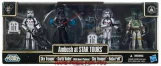 STAR WARS AMBUSH @ STAR TOURS ACTION FIGURE BOX SET DISNEY PARK