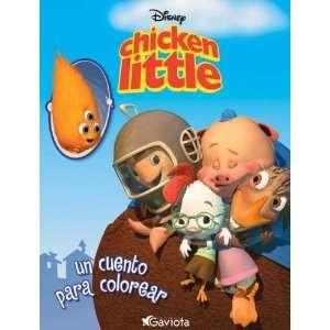 Chicken Little. Un cuento para colorear (9788439203858