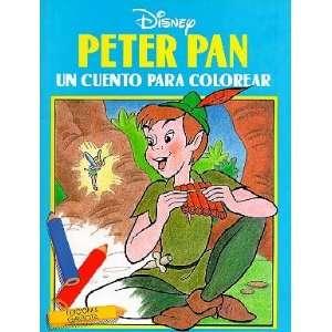 Peter Pan. Un cuento para colorear (9788439281405) Walt