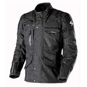 Scorpion Mens Master Black Motorcycle Jacket   Size  XL