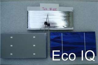 Kit 36 3 x 6 A  solar Panel cells + Tab WIRE Diodes