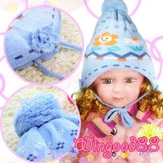Toddler Infant Baby Girl Sun Flower Photo Hat Props Cap